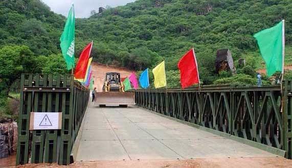 云南成都贝雷桥